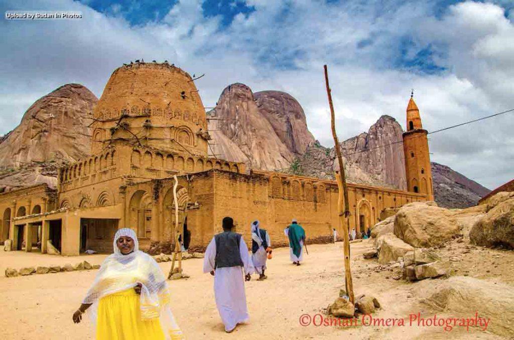 Mirghaniya Mosque/Taka Mountain Kassala