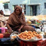 Tea Lady making Zalabia in Khatoum