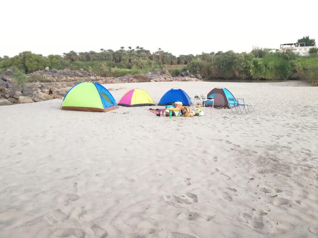Camping at Kassinger Islands