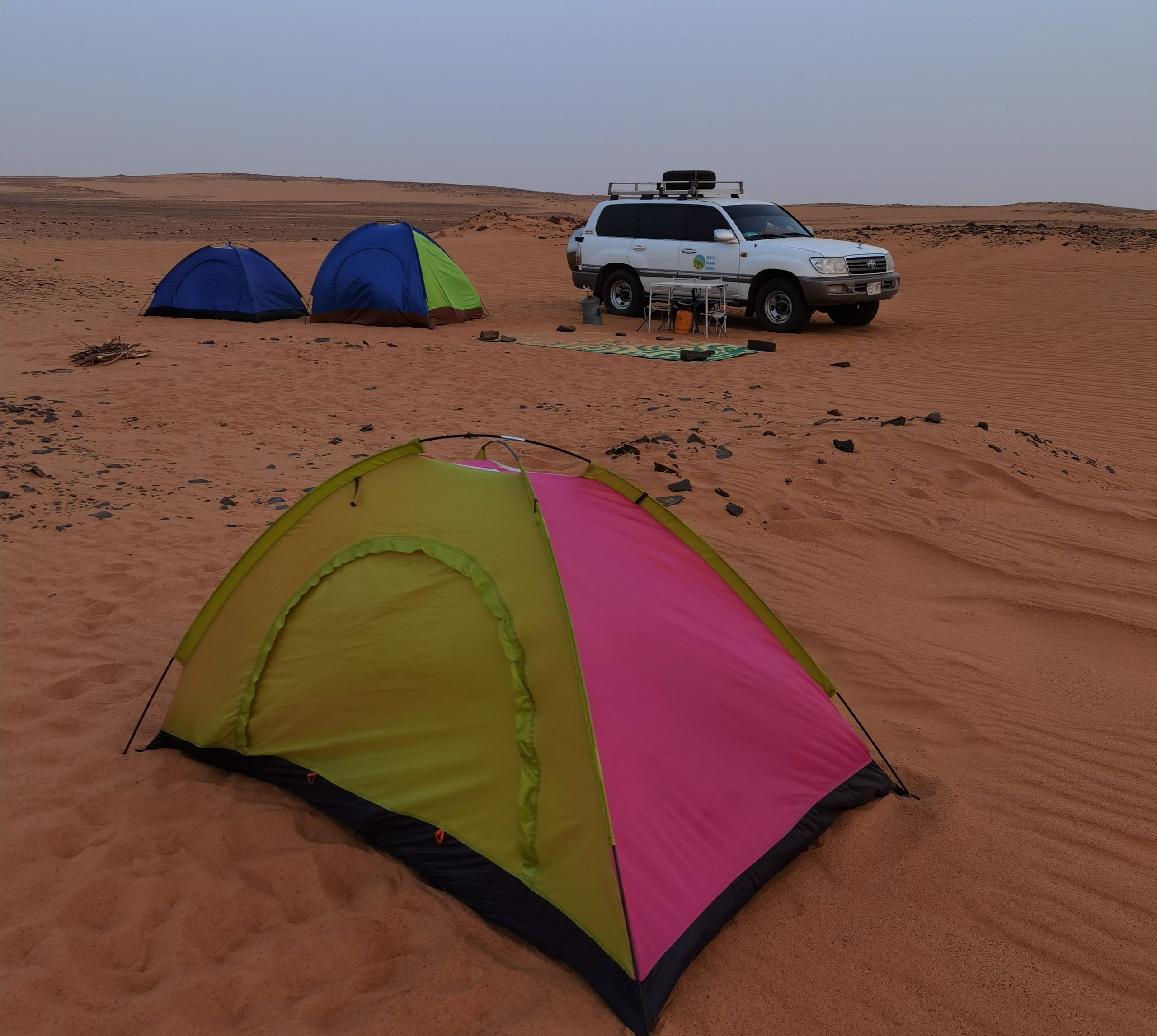 Desert Camping Old Dongola